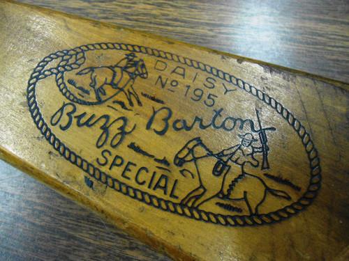 Daisy No. 195 Buzz Barton Special BB Gun