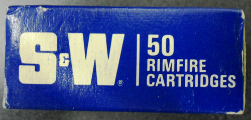 S&W 22LR Rimfire Cartridge Box and Ammo