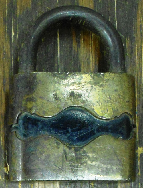 The Yale & Towne Mfg. Co. Antique Fidelity Lock - NO Key