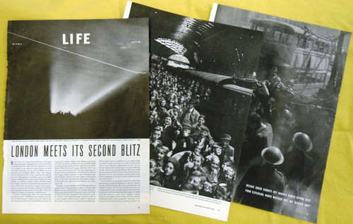 WWII Life Magazine Article dated July 24, 1944