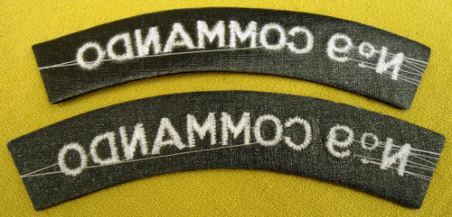 British No. 9 Commando Tabs