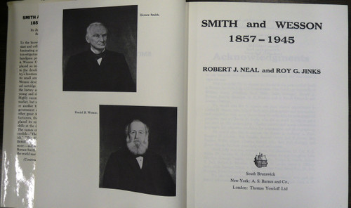 Title page of Smith and Wesson 1857 - 1945