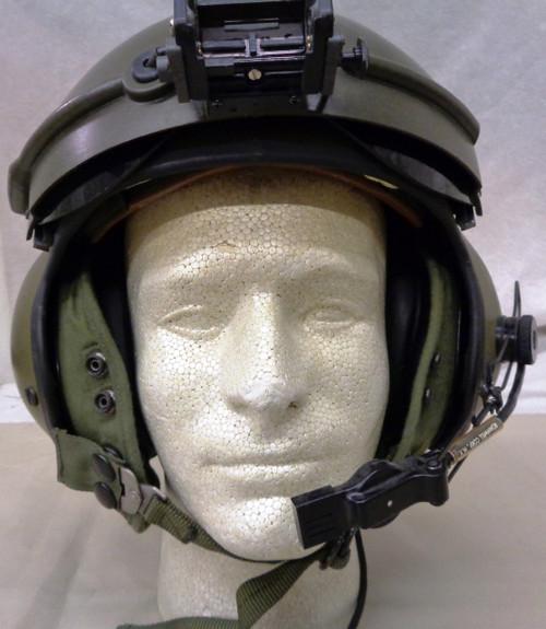 U.S. SPH 4B Helicopter Pilots Helmet w/NVG Mount & Bag