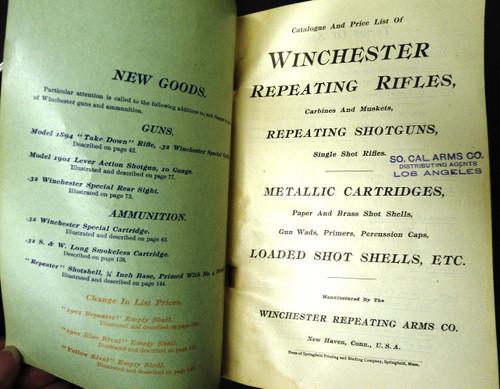 Winchester Catalog No. 68 January 1902