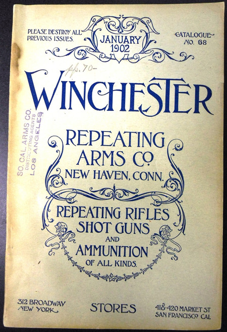 Winchester Catalog No. 68 January 1902