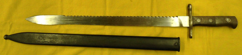 Swiss M1911 Pioneer Schmidt-Rubin Bayonet w/Scabbard 1