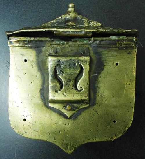 Russian Brass Cartridge Box 3