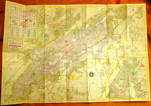 Shell Street Guide and Metropolitan Map of Birmingham 1967