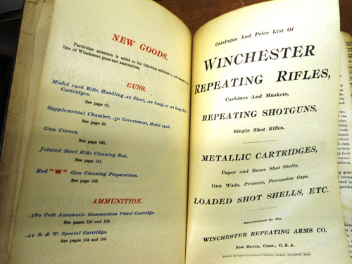 Winchester Catalog No. 75 * 1909 - Salesman's Copy