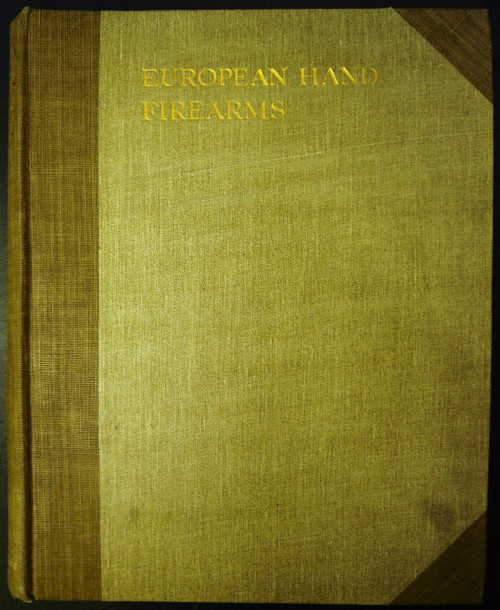 European Hand Firearms by Herbert J. Jackson - NUMBERED