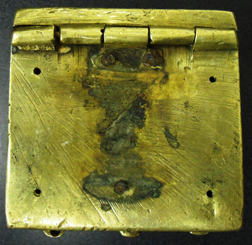 Russian Brass Cartridge Box