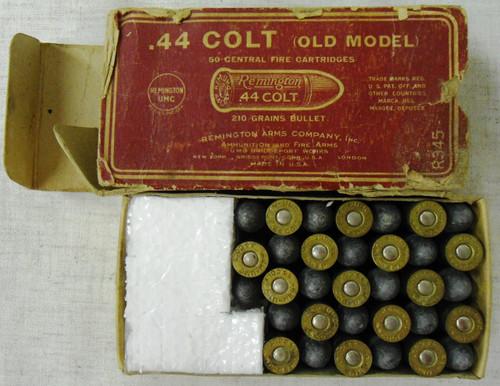 Remington-UMC .44 Colt (Old Model) CF Cartridge Box & Ammo