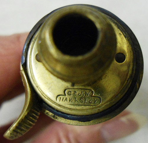 G. & J.W. Hawksley Small Powder Flask