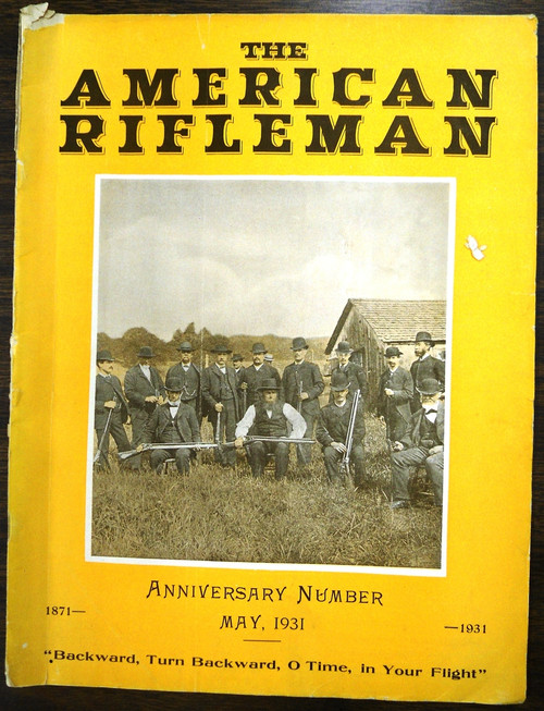 The American Rifleman - May 1931