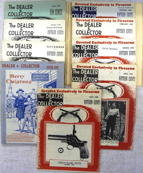 The Dealer & Collector Pamphlets (set of 9) 1947 - 1948