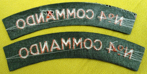 British No. 4 Commando Tabs