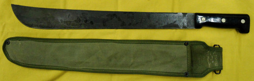 British WWII Sheffield Machete with Scabbard