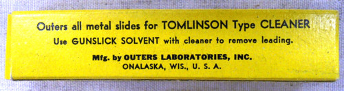Tomlinson Type Cleaner Slides - 20 gauge