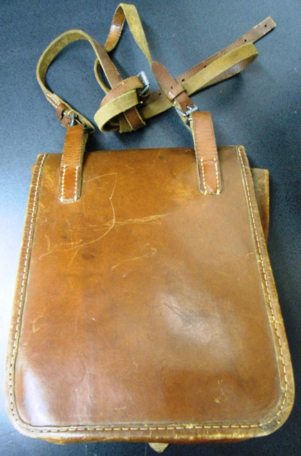 Artillery Officers Leather Map Case circa 1930 - 1940