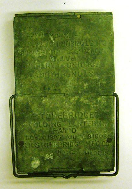 Stonebridge Folding Lantern Pat'd Nov. 20, 1906 - June 9, 1908