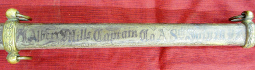U.S. M1860 Staff & Field Officer's Sword w/Scabbard 1