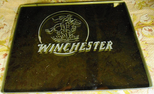 Winchester Logo on Glass