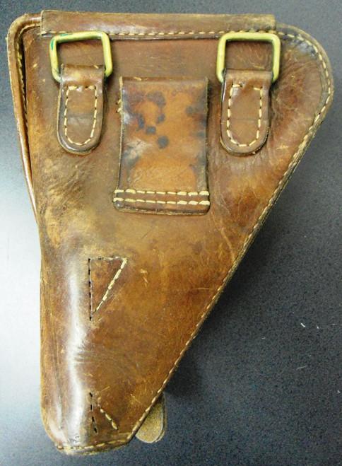 Japanese Leather Nambu Clam Shell Holster