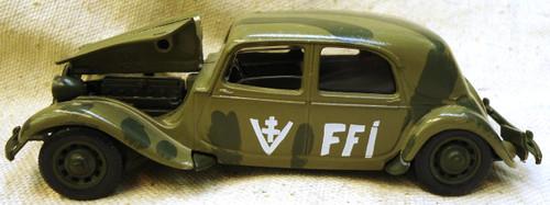 French WWII FFI Solido Car