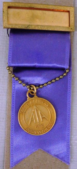 Amateur Trapshooting Assoc. Grand American Medal 1972