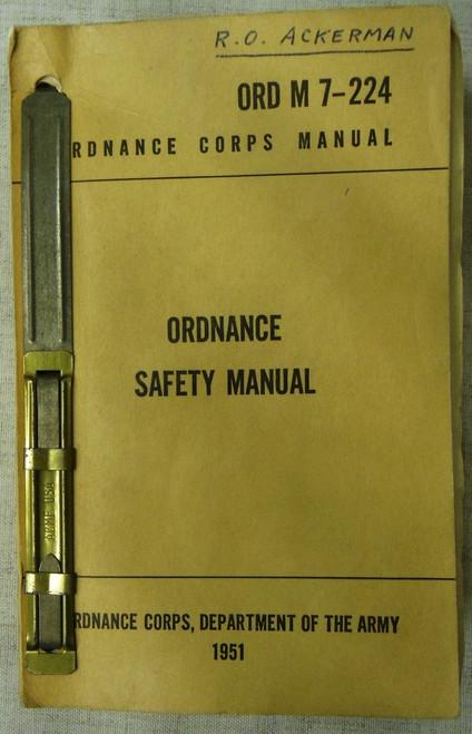 ORD M7-224 Ordnance Safety Manual - 1951