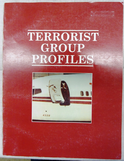 Terrorist Group Profiles by the Superintendent of Documents