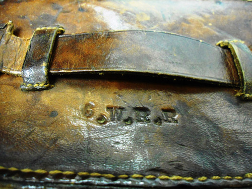British WWI Heath & Co. Ltd. Field Glasses w/Original Case