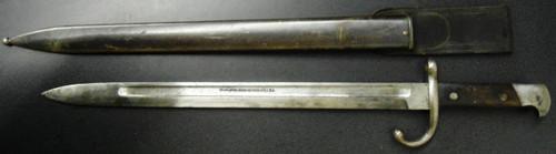 U.S. M1889 Remington Rolling Block Bayonet w/Scabbard