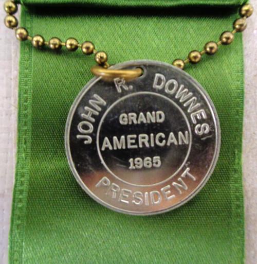 Amateur Trapshooting Assoc. Grand American Medal 1965