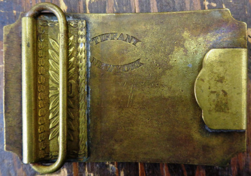 Wells Fargo & Co. Ocean to Ocean Golden Gate Brass Buckle