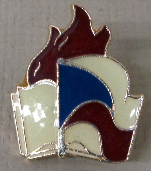 Czech Enamel Flag Pin