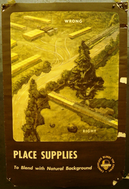 Place Supplies to Blend WWII Poster