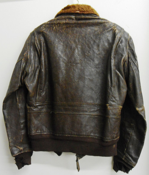 U.S.M.C. Korean War Era G1 Leather Bomber / Flight Jacket
