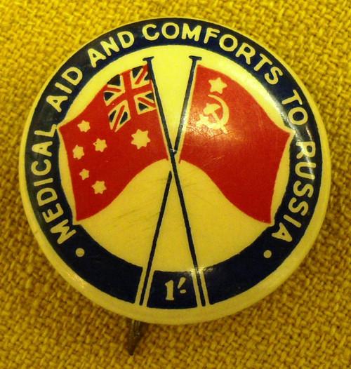 Australian WWII Tinny Badge