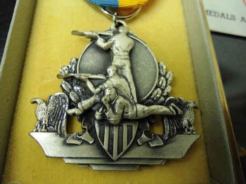 Rio Grande Gun Club 1960 National Match Course Winner Medal