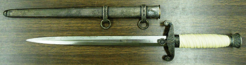 German WWII Army Officer's Dagger with Scabbard