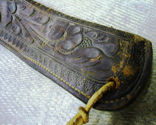 Colorado Saddlery M990 Tooled Rifle Scabbard