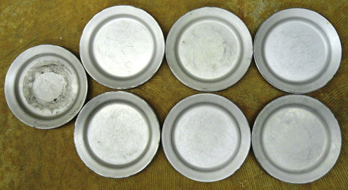 U.S. A.S. Co. 1951 Mess Kit Plates/Bowls - set of 7