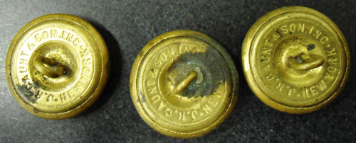 The Great Seal Buttons by J.R. Gaunt & Son circa 1900's
