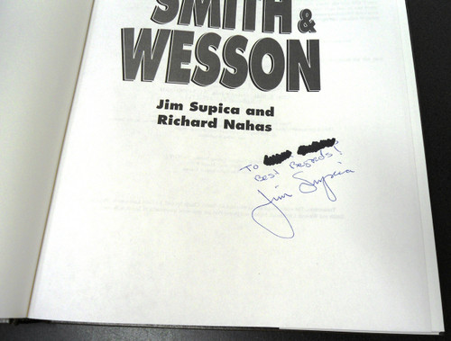 Standard Catalog of Smith & Wesson by Supica & Nahas *SIGNED*