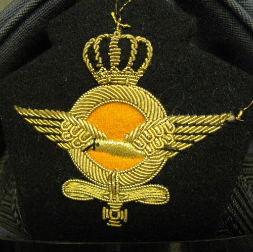 Royal Netherlands Air Force Cap w/Badge - Named