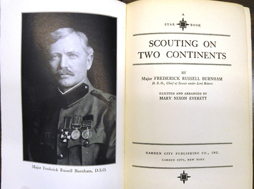 Scouting on Two Continents by Major F.R. Burnham