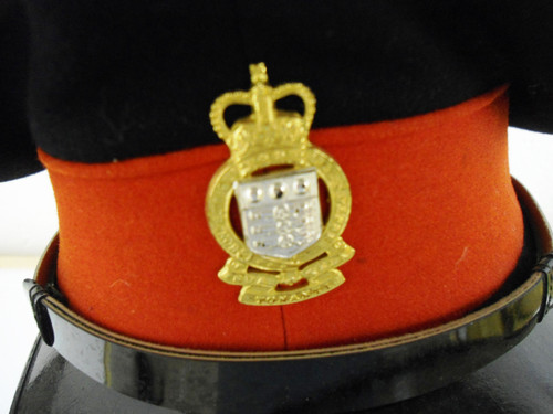 British Royal Army Ordnance Corps Cap w/Hat Badge