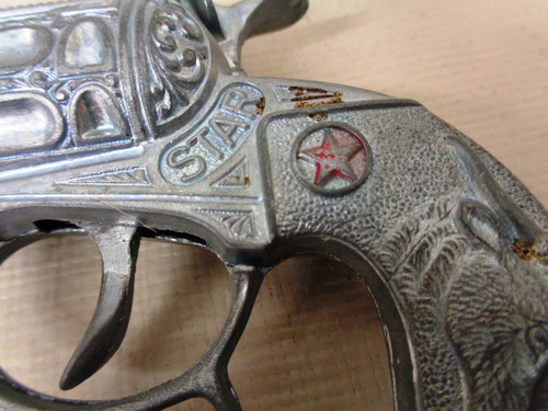 Hubley Star Cap Gun Double and Single Action