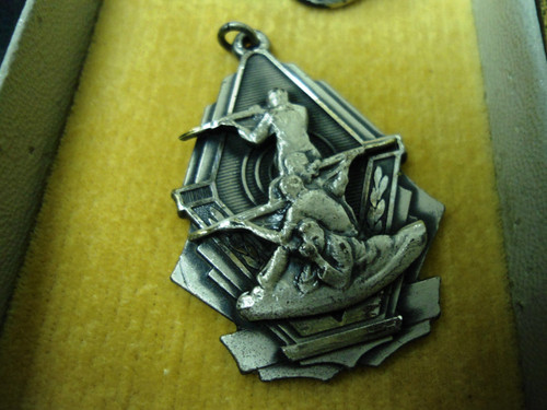 Clovis Rifle Club 1957 Service Rifle Medal w/Box